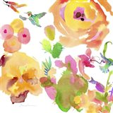 Watercolor Flower Composition VIII