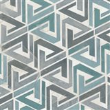 Teal Tile Collection II