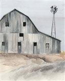 Winter Barn I