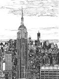 B&W Us Cityscape-NYC
