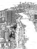 B&W Us Cityscape-Miami