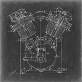 Motorcycle Engine Blueprint II
