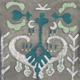 Teal Tapestry I