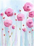 Pink Florets I