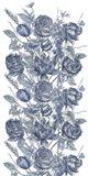 Ice Blue Botanical II