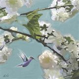 Hummingbird Florals II