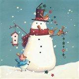 Folk Snowman I