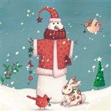 Folk Snowman II