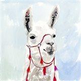 Watercolor Llama I
