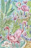 Flamingo Paradise I