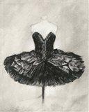 Black Ballet Dress I