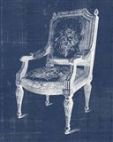 Antique Chair Blueprint IV