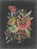 Velvet Floral I
