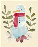 Snowman Cut-out I