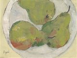 Plate with Pear