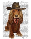 Cocker Spaniel Cowboy