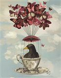 Blackbird In Teacup