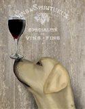 Dog Au Vin Yellow Labrador