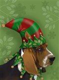 Basset Hound, Elf Hat
