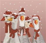 Christmas Gaggle of Geese