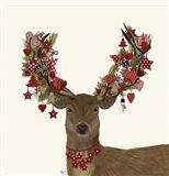 Deer, Homespun Wreath