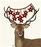 Deer, Star Decorations