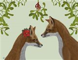 Foxes and Mistletoe