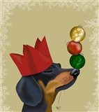 Dachshund, Party Trick Baubles