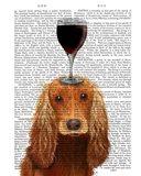 Dog Au Vin, Cocker Spaniel