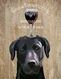 Dog Au Vin, Black Labrador