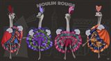 Ostrich, Can Can Troupe
