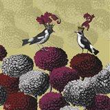 Blooming Birds, Chrysanthemum 2