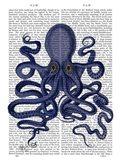 Octopus 9, Blue