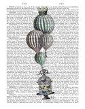 Balloon and Bird Cage 1