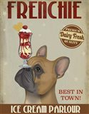 French Bulldog Ice Cream