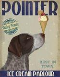 German Shorthaired Pointer Ice Cream