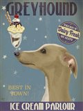 Greyhound, Tan, Ice Cream