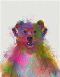 Rainbow Splash Bear