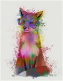 Rainbow Splash Fox 1