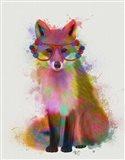 Rainbow Splash Fox 2