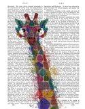 Rainbow Splash Giraffe 1