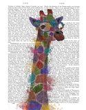 Rainbow Splash Giraffe 2