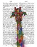 Rainbow Splash Giraffe 3
