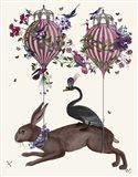 Hare Birdkeeper, Hot Air Balloon