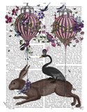 Hare Birdkeeper, Hot Air Balloon