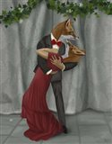 Foxes Romantic Dancers