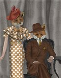 Fox Couple 1930s
