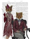 Fox Couple 1920s