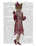 Fox Lady 1920s Flapper