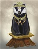 Badger with Tiara, Full